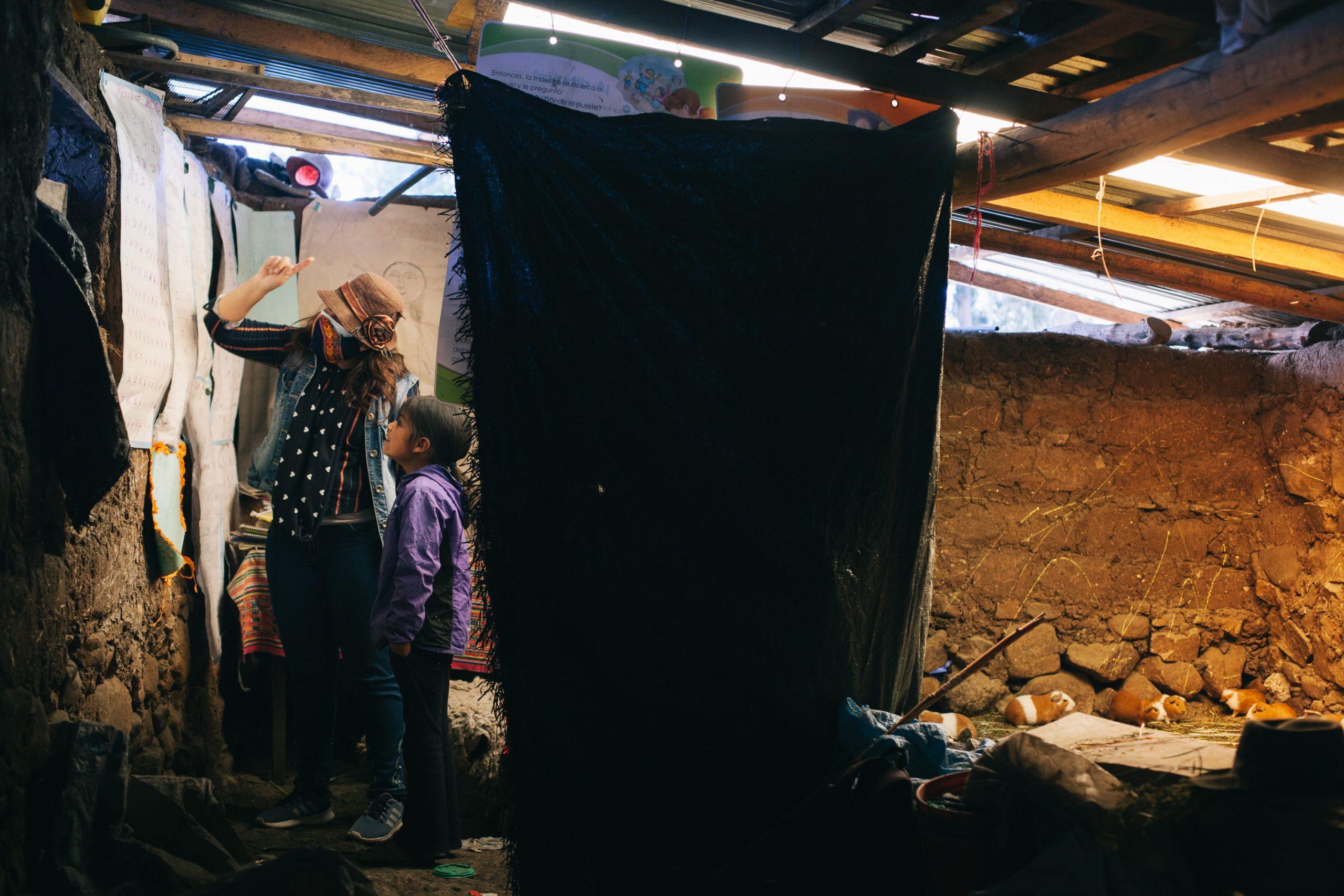 La travesía andina de una maestra rural