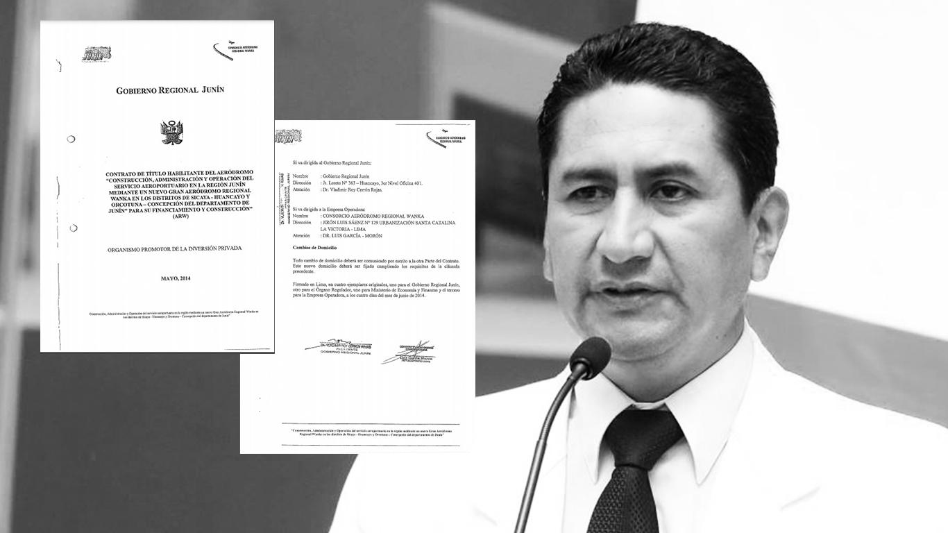 Los contratos de Vladimir Cerrón y los (otros) Quispe Palomino