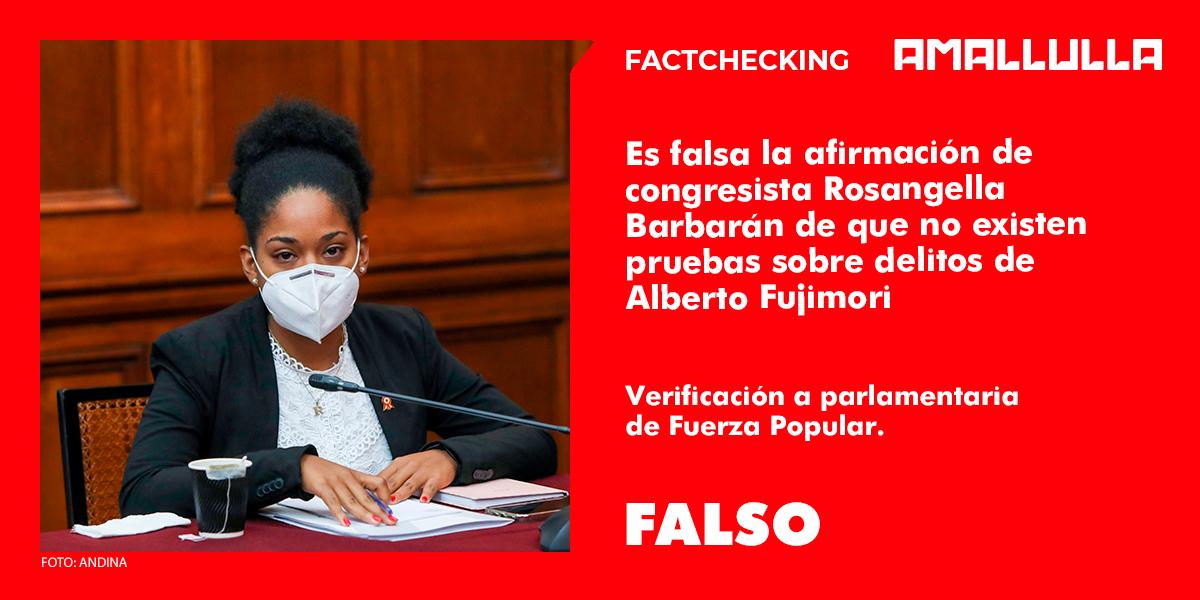 Los 'errores' de Fujimori